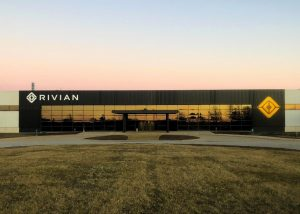Rivian manufacturing plant in Normal, Illinois